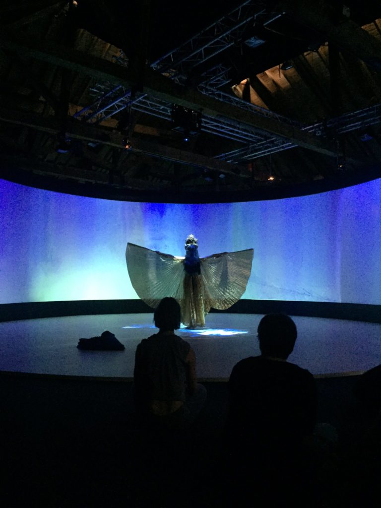 Dancer in Collective Reality at FutureFest 2016